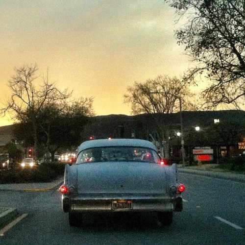 Oh, here we go. I forgot I took this. This #ratrod #cadillac I saw cruising #poway road the other day. I know the guy who owns it but I cannot remember his name. But it's a cool car nonetheless. So we'll make this my 6th pic for the #5shotchallenge. ————————————————- ———————————————— #sunset #sky #classic #coupe #leadsled #iphonesia #iphoneonly #jj #jj_forum #weird #Photooftheday #imageoftheday #mobilephotography #igers #iger #instahub #instagood #instagramhub #igerssandiego #sandiego #california