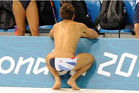 that-one-guy-next-door:  tomdaleys-speedos:  i would tap that so hard…   Never really been a fan of him haha