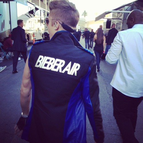 bieber-news:  karlawelchstylist: Ready for Take Off