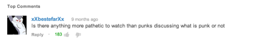fffin:  the only youtube comment i've ever liked