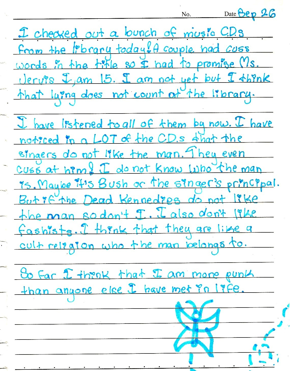 thisishangingrockcomics:  actual diary entry from when i was in 5th grade oh my god  THIS. WINS. EVERYTHING.