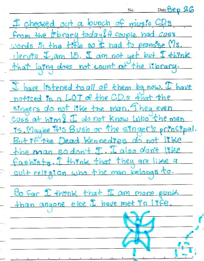 thisishangingrockcomics:  actual diary entry from when i was in 5th grade oh my god