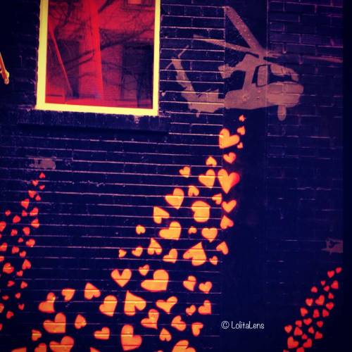 Spreading love…Happy Valentine's Day, everyone!Mulberry Street, NYC