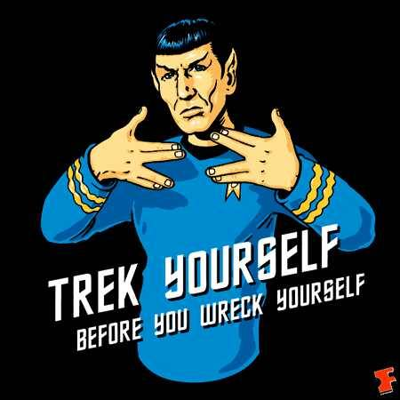 Need to interject some humor. It's only logical. #StarTrek