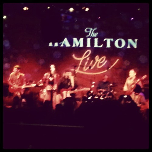 One more early shot of @Chopteeth @thehamiltondc rockin' the Afrobeat!  (at The Hamilton)