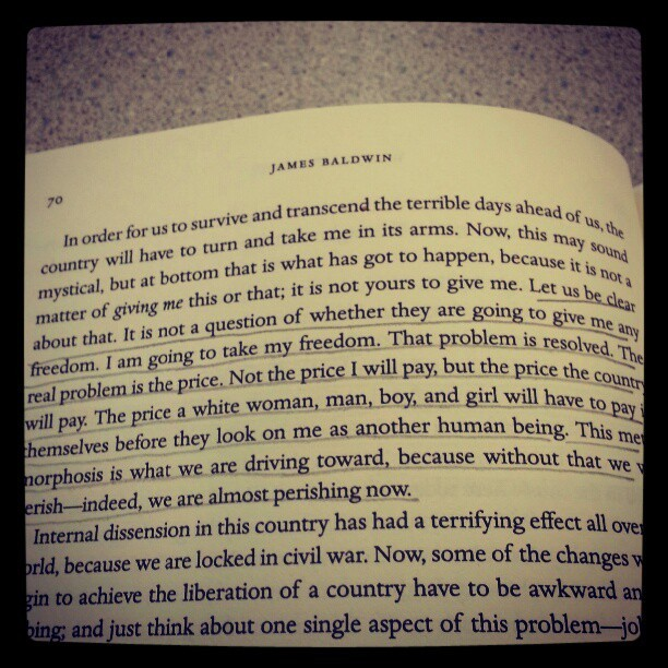 What Price Freedom? #JamesBaldwin