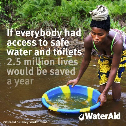 WaterAid is trying to change that and you can help. This Valentine's Day, consider giving a family the gift of clean drinking water. (via Are you looking forward to summer?)