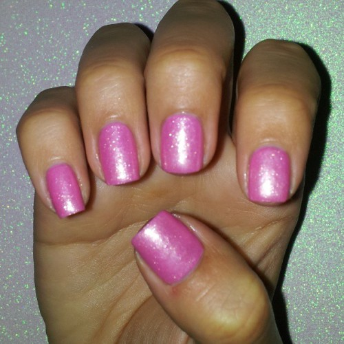 Just wanted a simple mani OPI Princesses Rule over Sinful Colors Cotton Candy #Notd #nailoftheday #nailsoftheday #cnlc #michellemealey #nailsofinstagram #opi #princessesrule #sinfulcolorscottoncandy #sinfulcolors