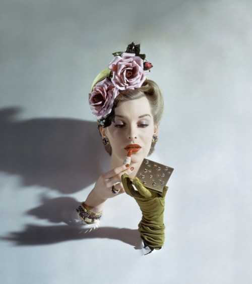 Vogue, March 1943 by John Rawlings (Condé Nast: So much more than a pretty face)