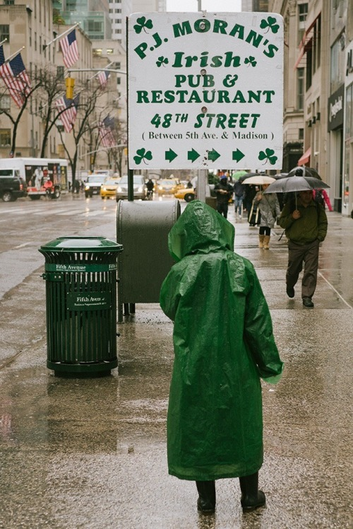 In The Rain, Midtown, NYC