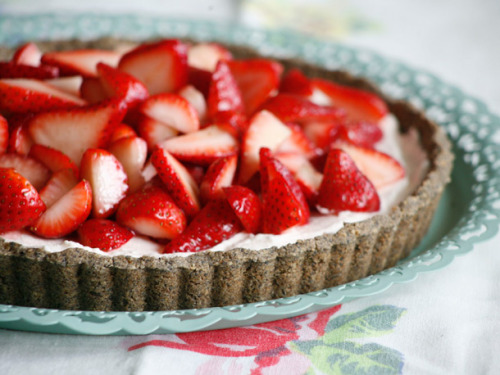 foodopia:  strawberry campari tart: recipe here