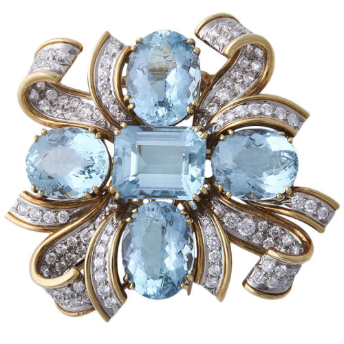 omgthatdress:  Brooch Tiffany & Co. 1stdibs.com