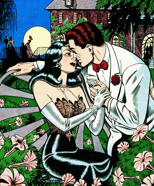 Love Diary #1 (1949) Illustration by Bill Ward.