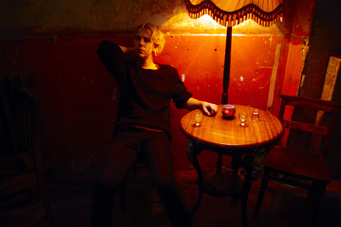 colinlanephotography:  Tom Odell at Ruby's in Stoke Newington, London, shot for Sony Records