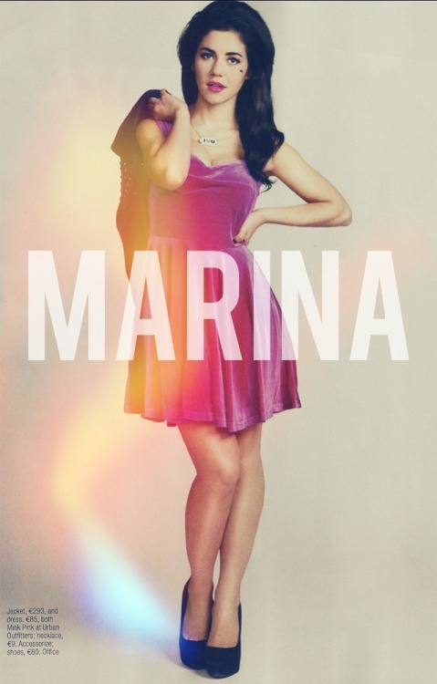 imustadmitilovelanadelrey:  Marina , Lana and 1D blog follow for similar posts http://goo.gl/hVCkd