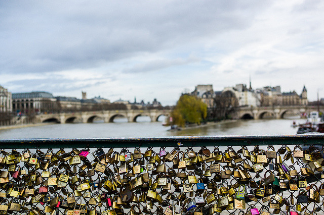 Pont des Arts  (Leica M9 | 1/1000 sec, f/3.4, ISO 160, 35mm) We are heading home tomorrow after a wonderful family week in Paris. I will miss this place dearly. More of our Paris pics here.