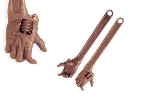 2headedsnake:  Design Martus Hand wrentch cast bronze