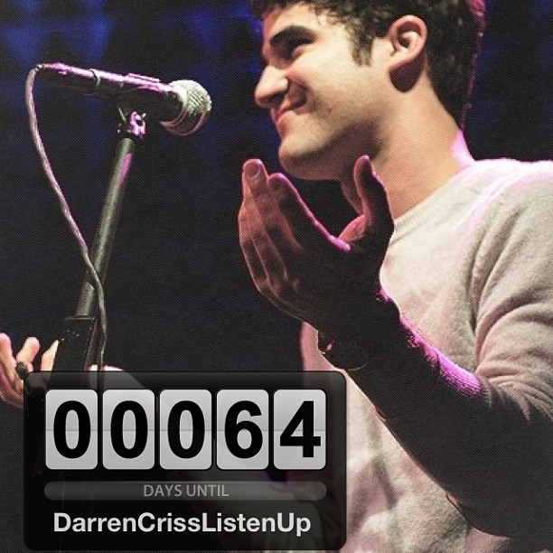 Vem Darren Criss Listen Up … Summer Tour <3 @darrencriss #DarrenCrissListenUp