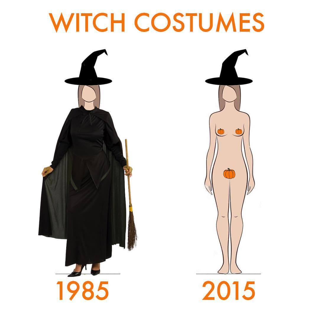 Trash bag halloween costume