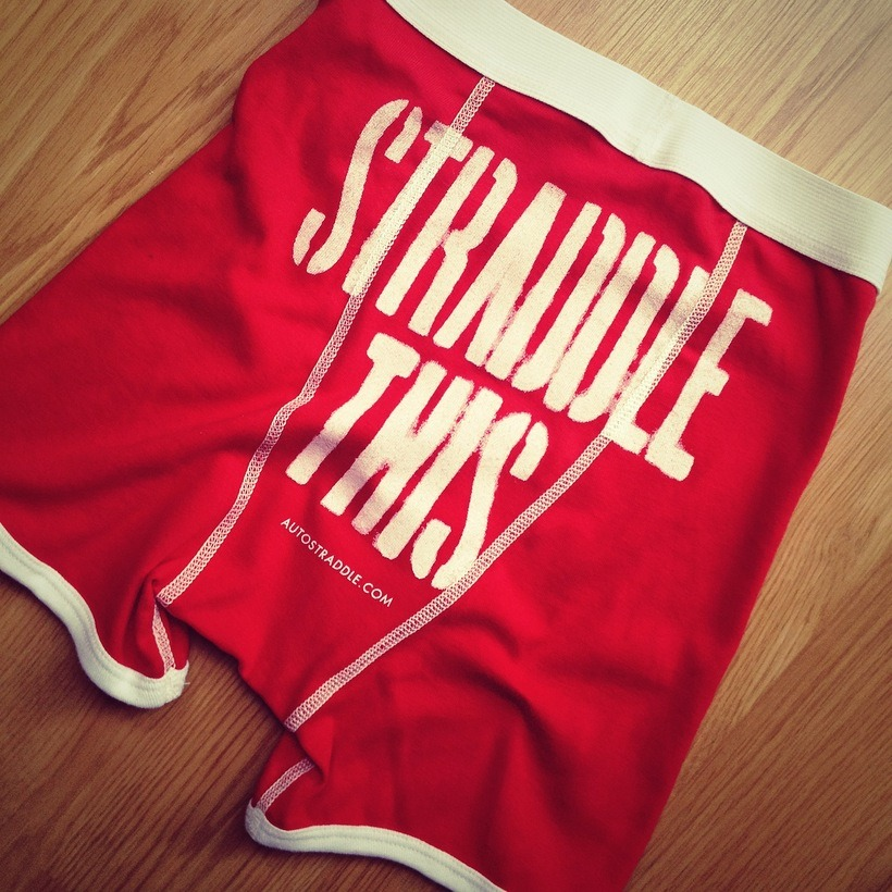 Betty McCrae would totally wear some Straddle This boxer briefs. You should too. You do you.
