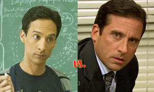 The Directors of Delusion: Abed Nadir Vs. Michael Scott  March Madness: Character Crazy-Off  These two are the Directors of Delusion. Unhappy with the lives they actually lead, both men have carefully crafted other more exciting environments for themselves to enjoy when the going gets rough. Whether its as a secret agent or a claymation Christmas special, it's clear they both are the vanguards of deluded self-cinema. The question is, who deserves the Oscar?  Read more and VOTE here: http://www.charactergrades.com/march-madness-2013-character-crazy-off/the-offices-michael-scott-vs-communitys-abed-nadir
