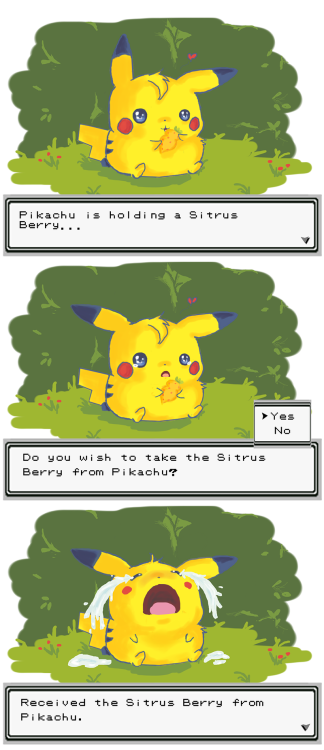 pokemonpalooza:  Sitrus Berry by ~erratic-werebunny  :C