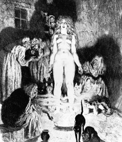 horrorgasmo:  Norman Lindsay, The Little Witch, 1937