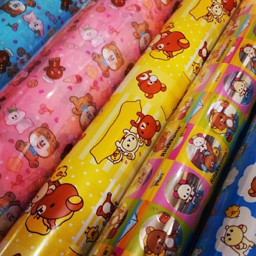 Yes! We can gift wrap your package from CoolPencilCase.com! #cute #kawaii #rilakkuma #sanrio #schoolsupplies #stationery #holiday
