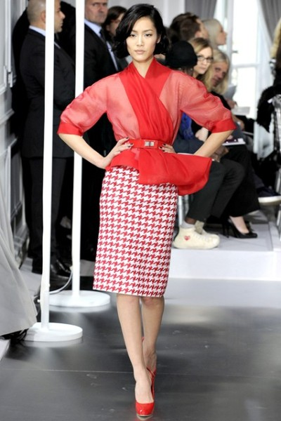 D is for DOGTOOTH and D is for Dior #fashionweek #fashion #dogtooth #2013trends