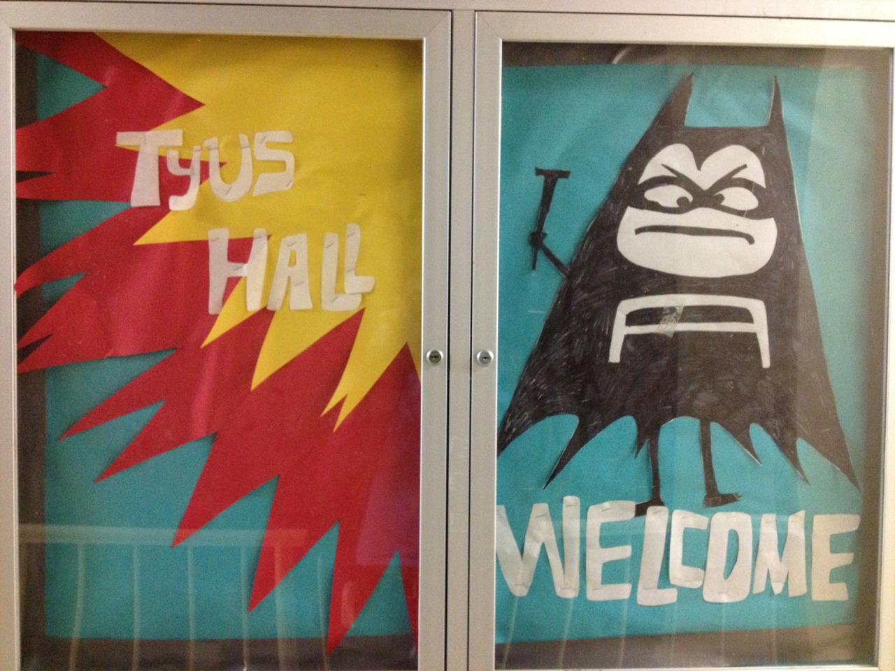My Aquabats bulletin board I made for my dorm. I think it came out pretty good.