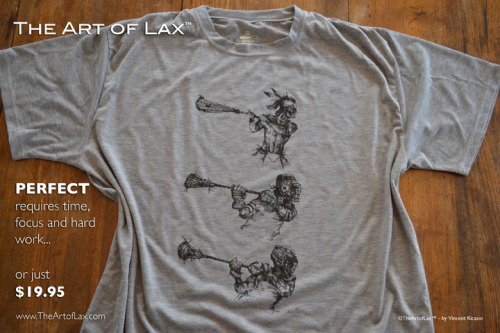 Get it at: www.TheArtofLax.com, click on apparel.