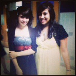 My best friend and I ❤ we have changed do much since 8th grade ! #maychallenge #transformation #bestfriend #change #love #girls #instagood