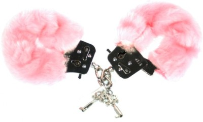 katestoybox:  Fluffy metal handcuffs