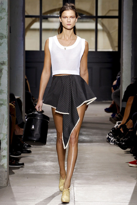 Summer inspiration from Balenciaga's Spring RTW 2013