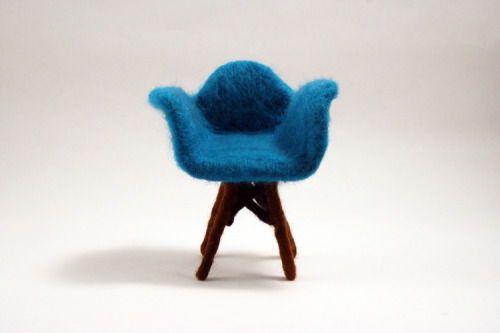Felted Chairs - Christine Huynh