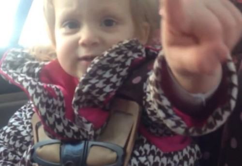 AUGUST DOES NOT NEED HELP WITH HER CAR SEAT!by Blaire Bercy http://bit.ly/YBcOdi