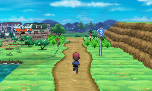 "This furthers speculation that Pokemon X and Pokemon Y take place in a region that is NOT contiguous of Unova. That sign means Route 3, right? Interesting turn of events. That, along with the other screenshot where the male trainer is running away from what appears to be the Eiffel Tower in a European-esque city leads me to believe X and Y may take place in Europe. Neat! [EDIT] Junichi Masuda was just in France, and his Twitter photo is him with the Eiffel Tower. We have what appears to be an Eiffel Tower like structure in the trailer, together with other classical European style architecture. Starters are based on things stereotypically associated with France, including Chestnuts, Frogs, and Fennec. The Cartesian coordinate system (you know, X & Y) was developed by René Descartes, a French philosopher.Gen VI confirmed for France. [EDIT EDIT] It should also be mentioned that in the trailer where Pikachu is ""talking"" to us, the camera zooms out really fast showing Pikachu on top of the Eiffel Tower; when it shows the world, his electricity is coming from France. If that doesn't confirm it, I don't know what does, guys. ;)"
