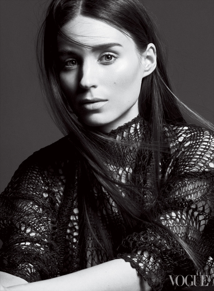 bohemea:  Rooney Mara: The Changeling - Vogue by David Sims, February 2013