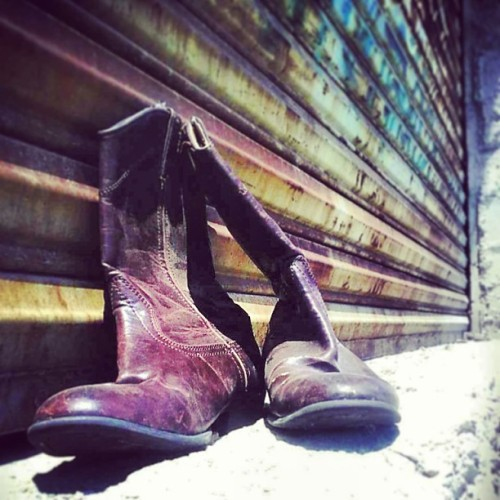 This boots are made for walking #boots #walk #tijuana #tijuanabj #bj #mexico #mextagram #vintage