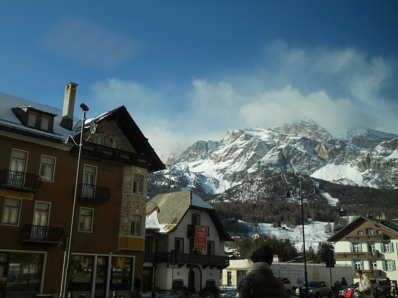 resently I went to cortina for work … if you don't know of it  , it is an amazing rather expencive ski resort in italy… I spent every moment I had free in a coffee shop in hope that I could speak to him
