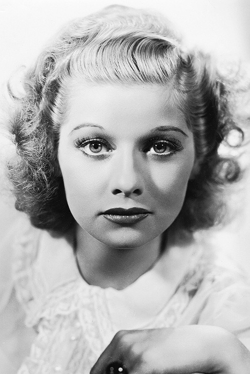 christinerod:  Lucille Ball in a promotional photo for Too Many Girls (1940). Photo by Ernest A. Bachrach