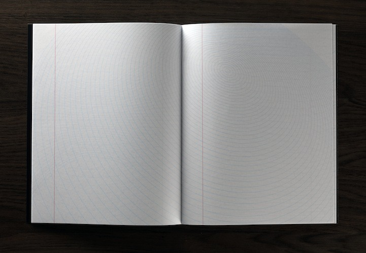 "enochliew:  The Inspiration Pad by Marc Thomasset ""I wanted to turn the conventional upside down with curved, angles and twisted lines in order to create one which could inspire people to unleash their own creativity."""