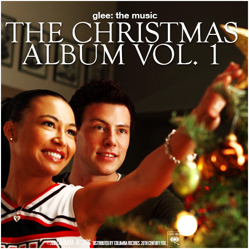 Glee: The Music, The Christmas Album Vol. 1 Alternative Album Cover