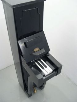 """Piano"", 2007 By: BJORN PERBORG…. **WHOA!!! THAT IS F'ING COOL!!!….another one of those ""things"" that you're like ""Damn, I Wish I Made That""….   :)"