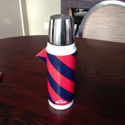 Very very excited to announce to everyone that I bought a new thermos today. Thanks for the support. Couldn't have done it without you all.