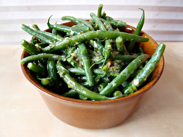 Warm French Bean Salad