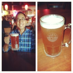 Cheers to being 21! My first legal drink! :D
