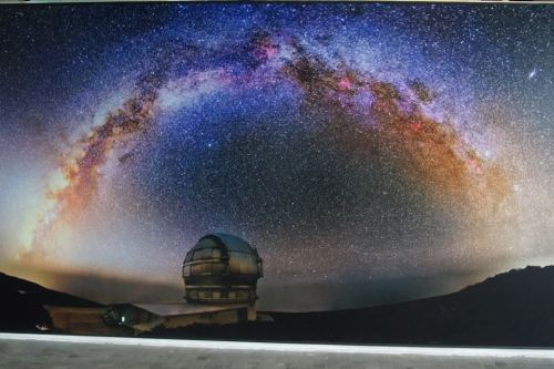 Milky Way Rising Over 10,4 m- Gran Telescopio de Canarias, Island of La Palma, Canary Islands  Image Credit : Daniel López