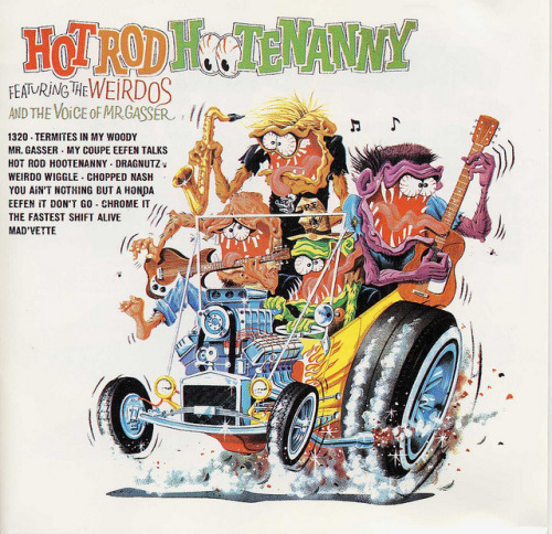 Hot Rod Hootenanny Featuring The Weirdos (1963)