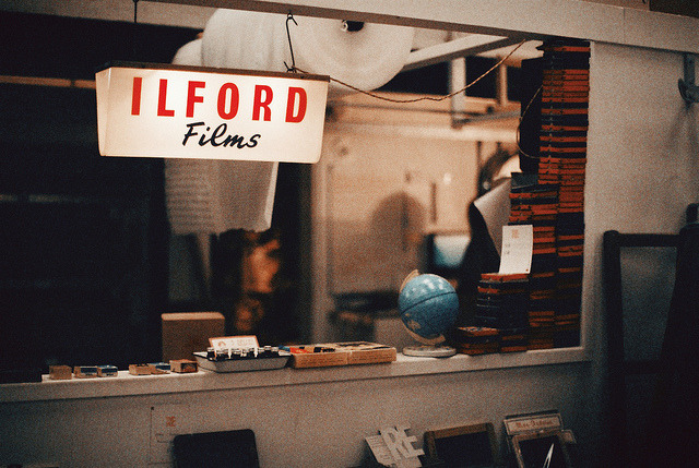 littlings:  Ilford Films by Bazzerio on Flickr.